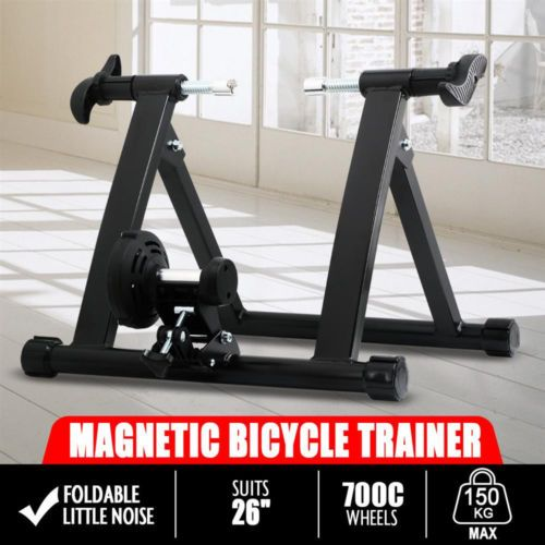 conquer exercise bike bicycle trainer stand resistance stationary indoor new