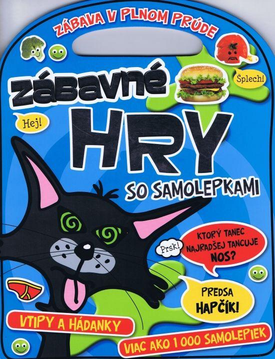 Paperback: Zábavné hry zo samolepkami (autor neuvedený) | bux.sk