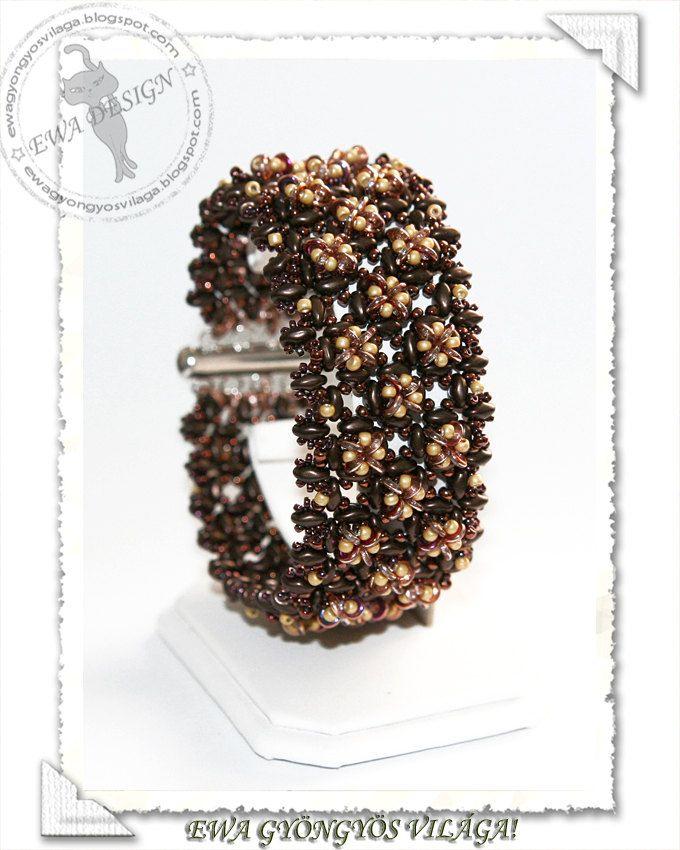 Modello di PDF di Catte perline braccialetto di EwaHotBeads