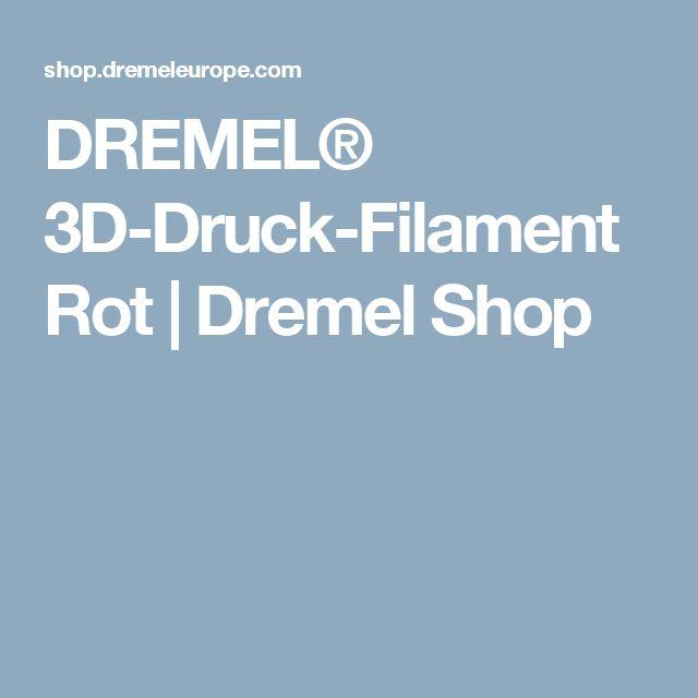 DREMEL® 3D-Druck-Filament Rot   Dremel Shop