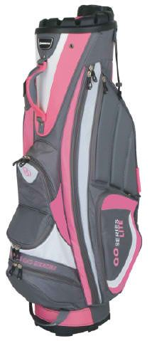 Keeps clubs organized for faster play and makes it easy to spot missing clubs, introducing Rose Bennington Ladies/Men's Quiet Organizer Lite Golf Cart Bag! #golf #golfbags #lorisgolfshoppe