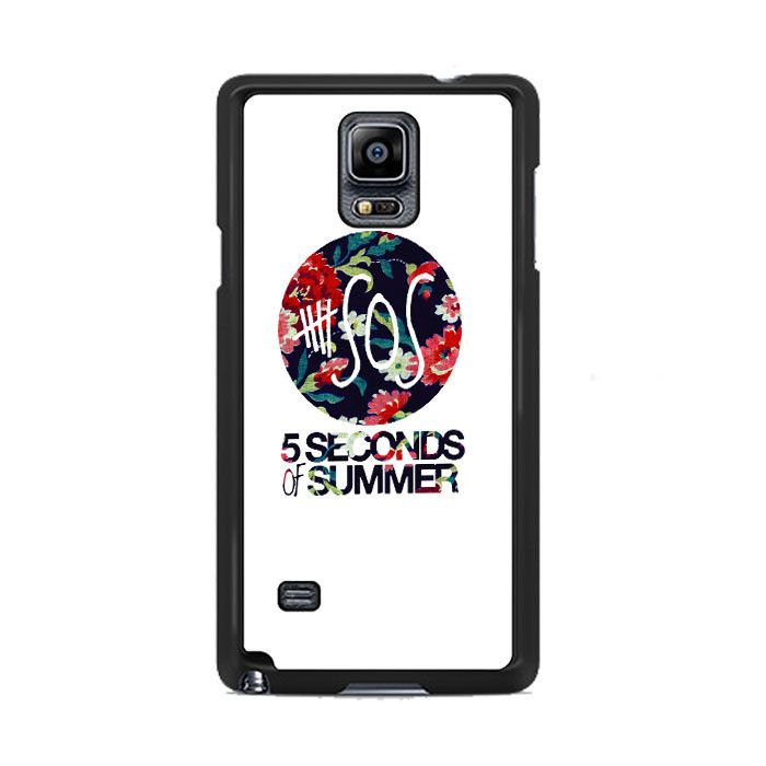 5 Second of Summer Floral Samsung Galaxy Note 3|4  Cases