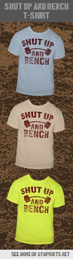 Shut up and bench! #powerlifting #benchpress