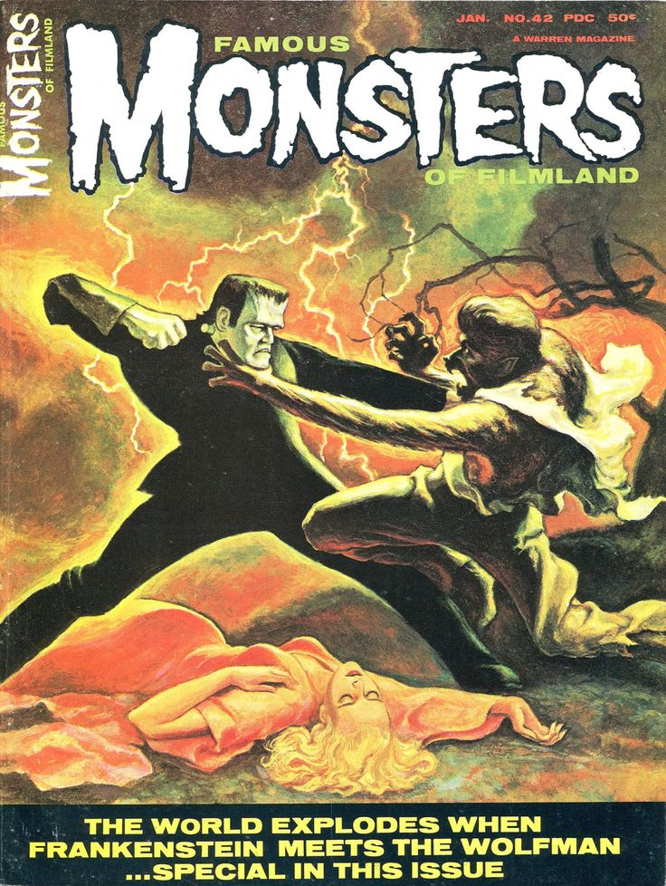 famous monsters magazine archives google search famous