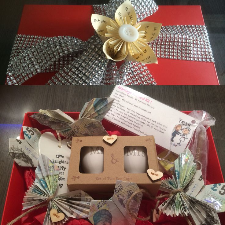 Wedding Money Gift Idea
