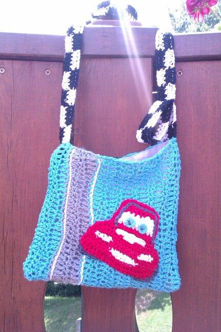 Crochet bag for boy
