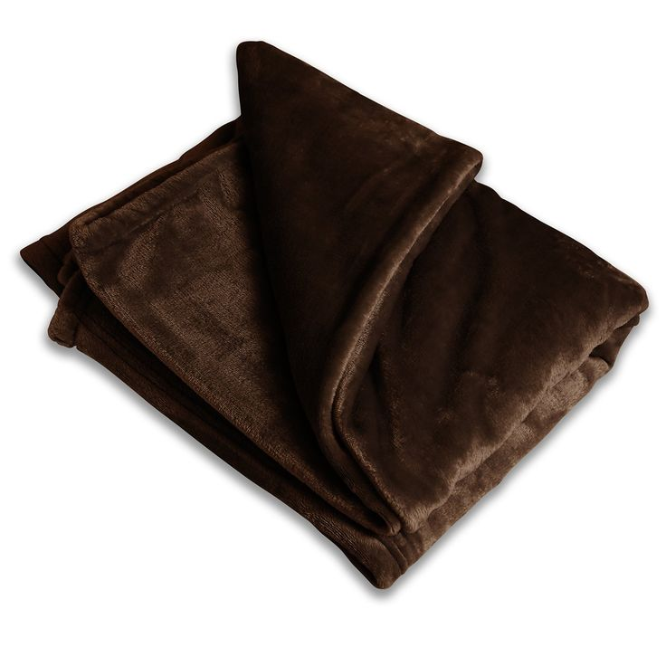 Luxury Fleece Throw Blanket - Walnut- Other Colors Available - Ultra-Plush Throw Blanket - Perfect Polyester Throw Blanket