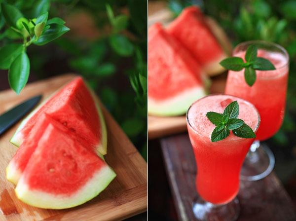 Watermelon  Honeydew Aguas Frescas