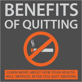 Infographic: Benefits of quitting smoking | West Park Hospital | Cody, WY