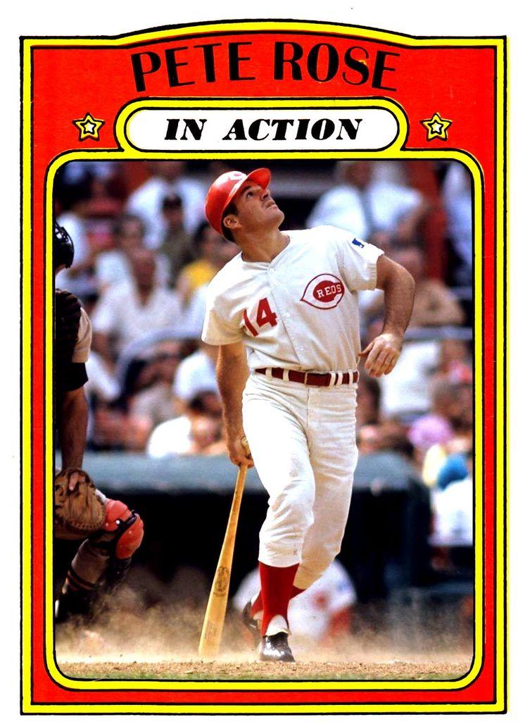 """1972 Topps Pete Rose """"Charlie Hustle"""" Baseball"""