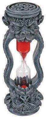 Gargoyle Sand Timer Gothic Decor. Starting at $1 on Tophatter.com!