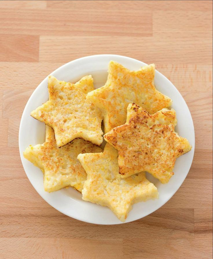 Star-shaped rice fritters by Sabrina Parrini from Little Kitchen | Cooked