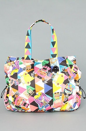 Get your Harajuku Lovers funk on... Lollipop Tote in Raver Girls
