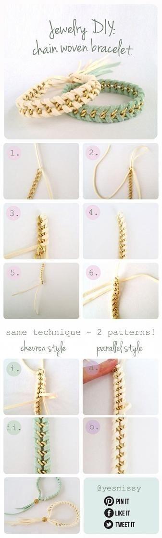 DIY et idées: si vous voulez un beau bracelet alors ce si est l'idéal pour vous