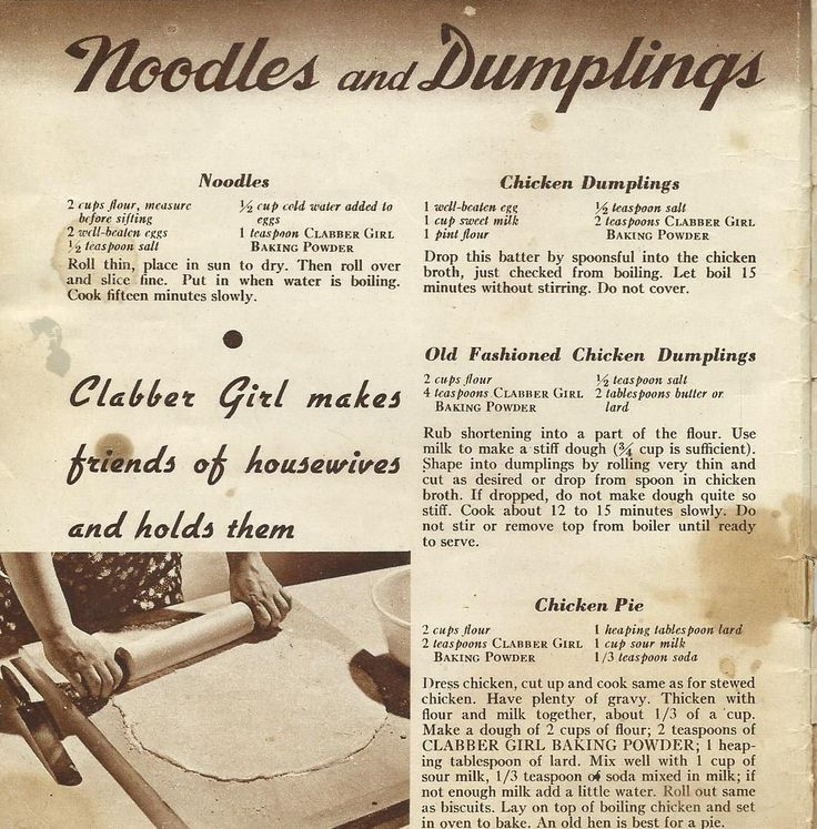 Clabber Girl Recipes