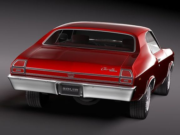 69 chevelle ss pictures | Chevrolet Chevelle SS 1969 3D Model