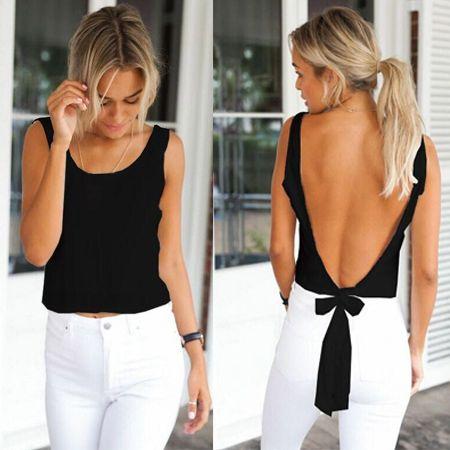 Clearance chiffon white shirt women Summer female black blouse orange backless camisas femininas wholesale white kimono stock