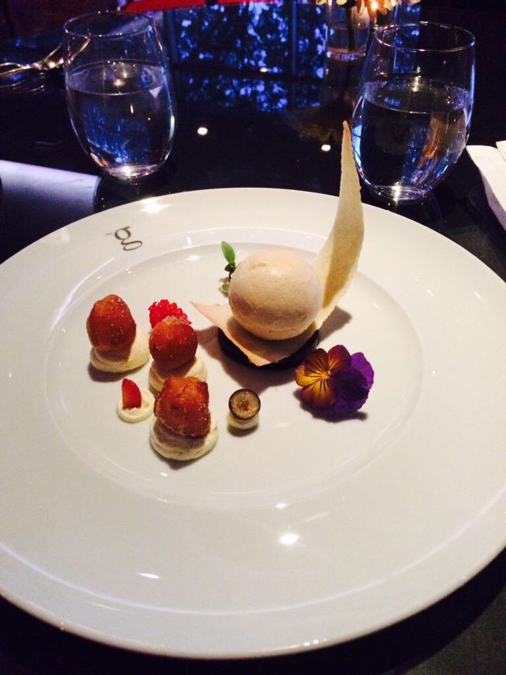 Dessert in Restaurant gigi's taken by a guest - thank you to all our budding photographer food lovers! www.theghotel.ie eat@theg.ie