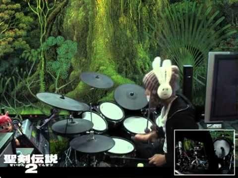 聖剣伝説2 Secret of Mana / 危機~子午線の祀り (drum cover)