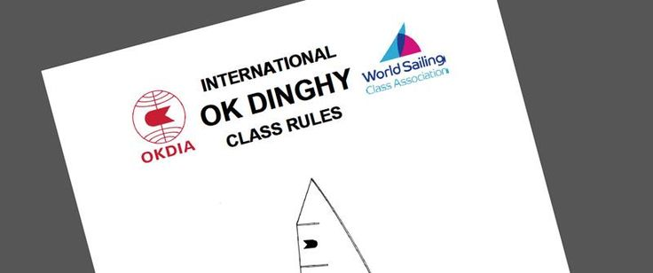 New OK Dinghy Class Rules published
