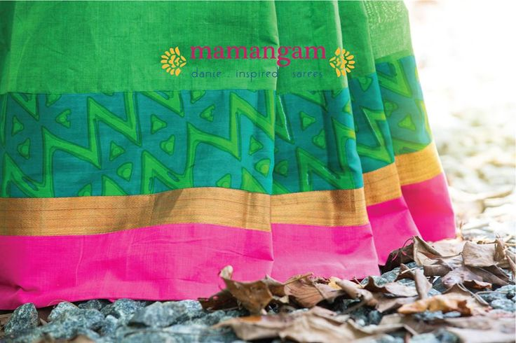 Dance inspired sarees by Mantra
