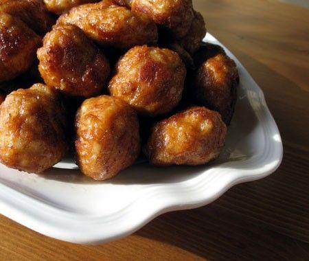 Pine Nut Raisin Meatballs Recipe | House & Home