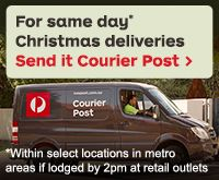 If it has to be there today, simply send it Courier Post. Same day delivery only available within Metropolitan areas of major Australian Cap...