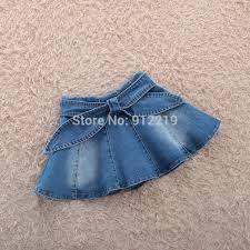 Resultado de imagen para faldas en dril para niñas