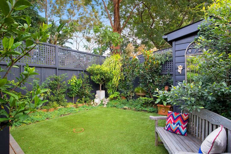 Private sunny garden, storage shed, classic home with designer interiors, 16 Mayes Street, Annandale, Pilcher Residential