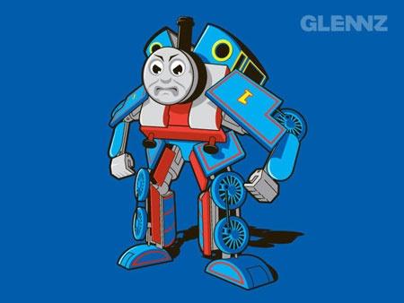 Thomas the tank engine transformer.