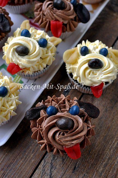 Hund- Cupcakes                                                                                                                                                                                 Mehr