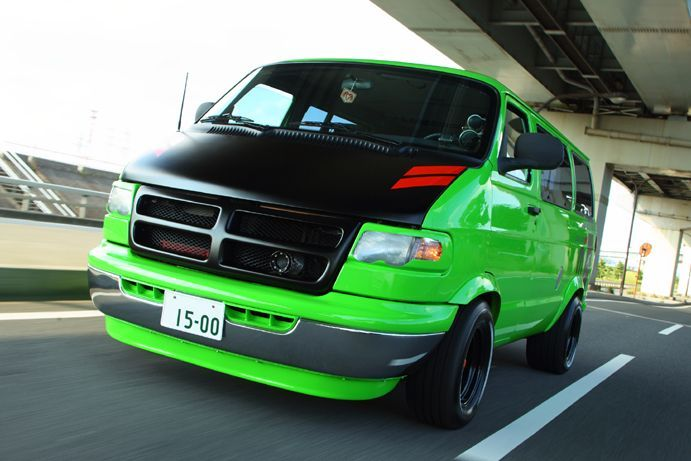 This is the second time around for this thread. The first one descended into a fun, but potentially very offensive thread. The new one is about the vans!  Those crazy guys over in Japan have a