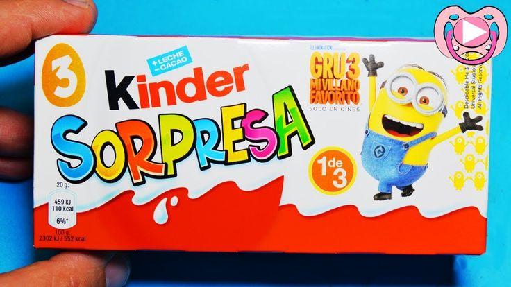 Ovos Surpresa Kinder - Gru o Maldisposto 3