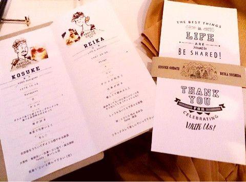 wedding item. の画像 REIKA YOSHIDA official blog