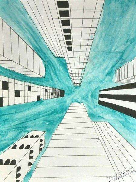 25 Mooiste Idee 235 N Over Eenpuntsperspectief Op Pinterest