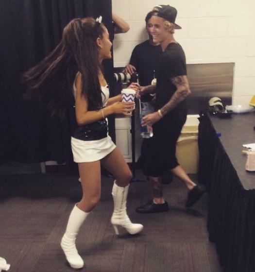 Justin Bieber and Ariana Grande Concert