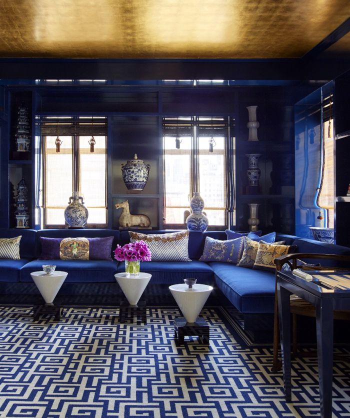 The Pink Pagoda: Blue and White Monday: Kelly Behun's Park Avenue Project