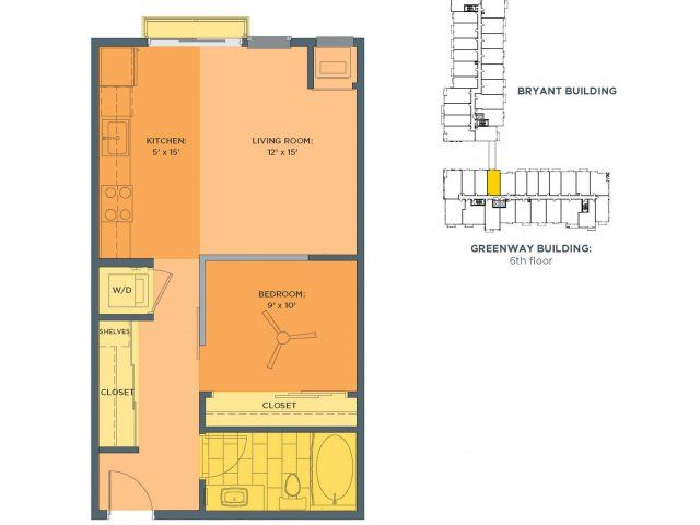 Alcove Floor Plan of Property Track 29 City Apartments Track 29 City  Apartments in uptown  2 Bedroom. 65 best images about Track 29 City Apartments Floor Plans on Pinterest