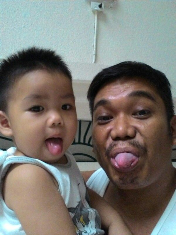 Making funny face and enjoying the day with my kid gave us more ways of understanding each other.