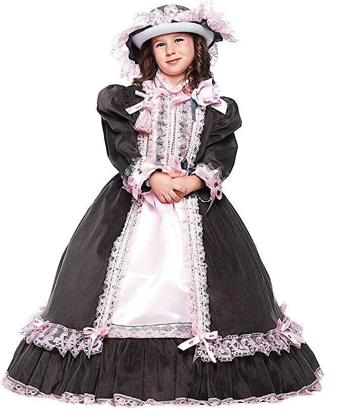 ottimi prezzi vendita a buon mercato nel Regno Unito bellezza COSTUME di CARNEVALE da DAMA DELL'800 BABY vestito per bambina ...