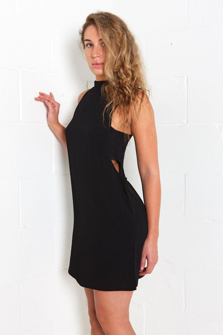 Black dress urban planet - Sleeveless Midi Dress