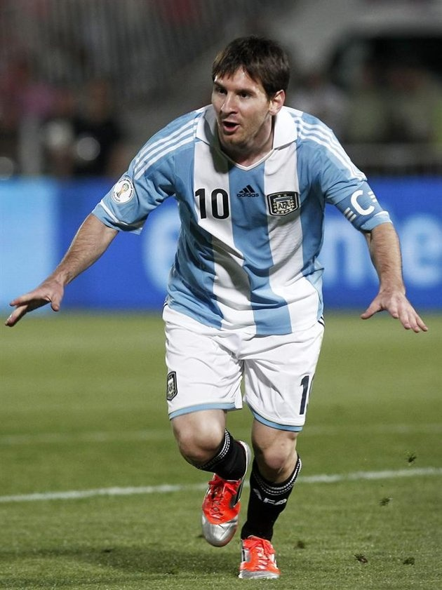 Lio Messi | Argentina 2-1 Chile. Eliminatorias 2014. [16.10.12]