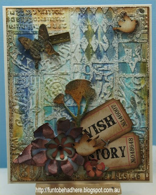 Donna's Creations: DT - Aunty Vera's Scrap and Craft