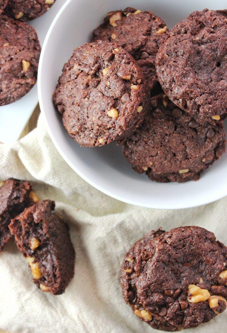 Leichte vegane Brownies