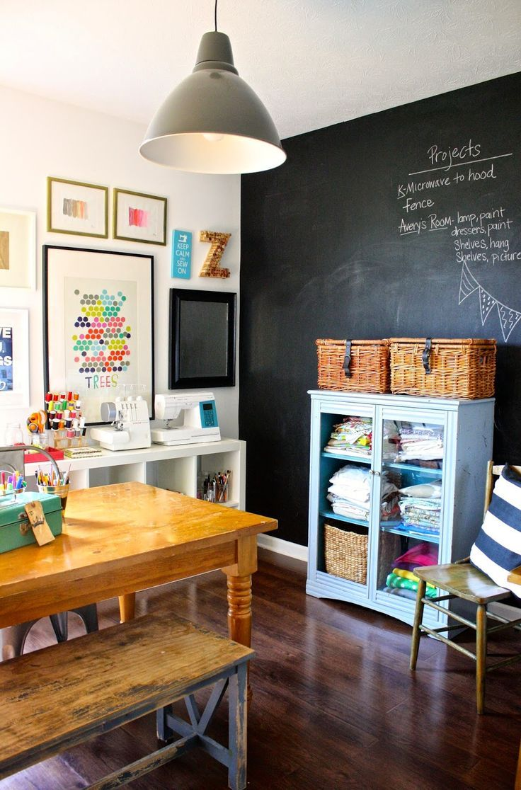 Craft room office ideas - Find This Pin And More On Office And Craft Room Ideas