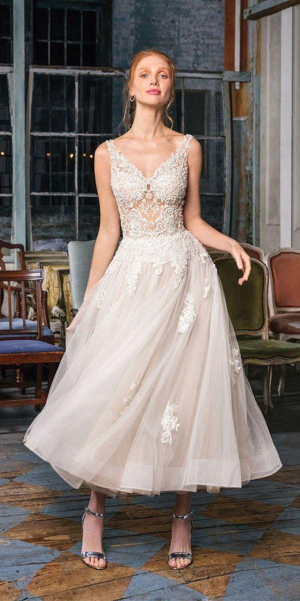 21 Incredible Tea Length Wedding Dresses Short Tea Length