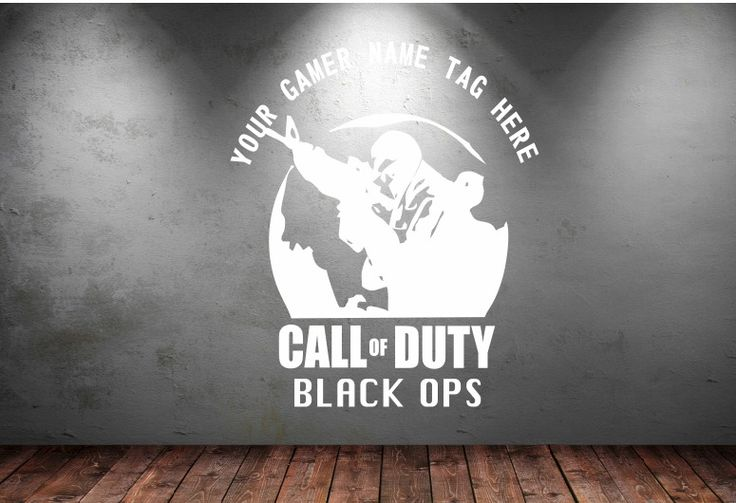 CALL OF DUTY BLACK OPS PERSONALISED GAMER NAME TAG AND IMAGE | Video Games & Consoles, Video Game Merchandise | eBay!