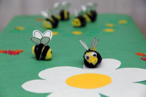 Bee Game Craft  An Original  Kids  Craft By