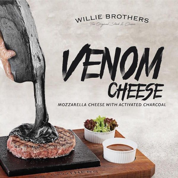 Black Venom Mozzarella Is Perfect For Anyone With A Deadly