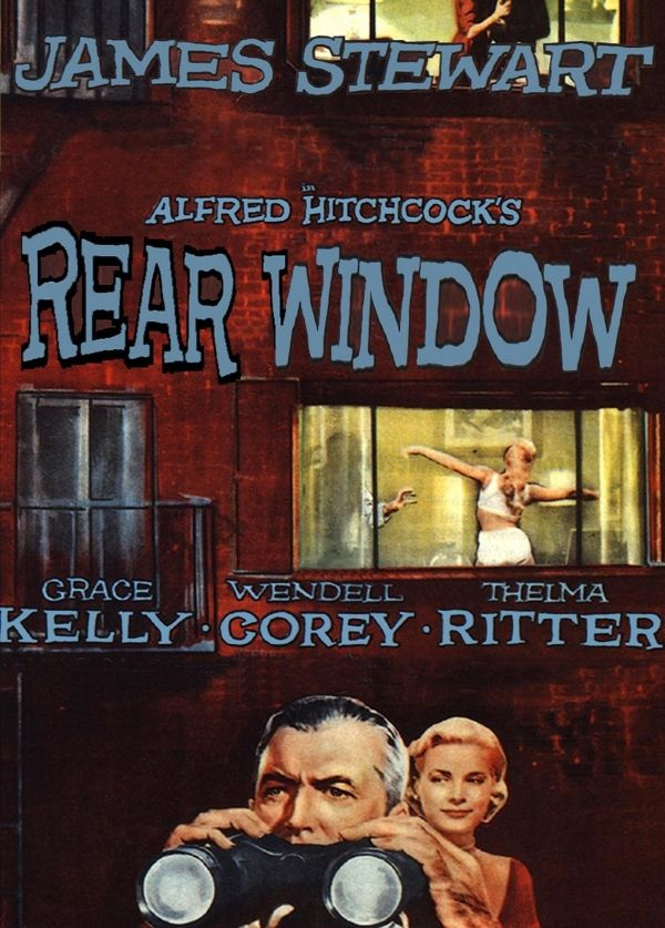 the pathology of the characters in the movie rear window directed by alfred hitchcock It is not simply a matter of an imaginary aggressivity which, itself, is directed at fellow-beings  (ernst) krieck or (alfred) rosenberg.